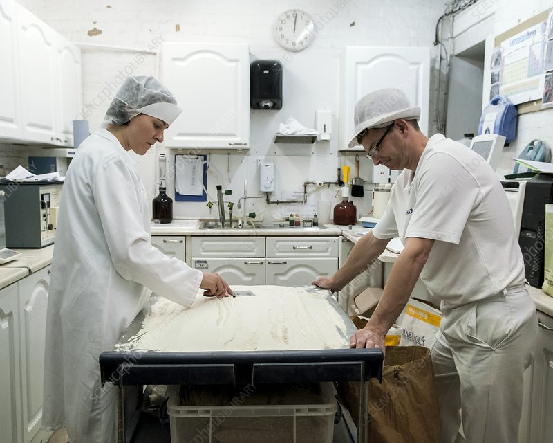 Flour mill quality control