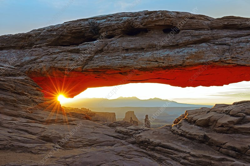 Mesa Arch, USA, at sunrise