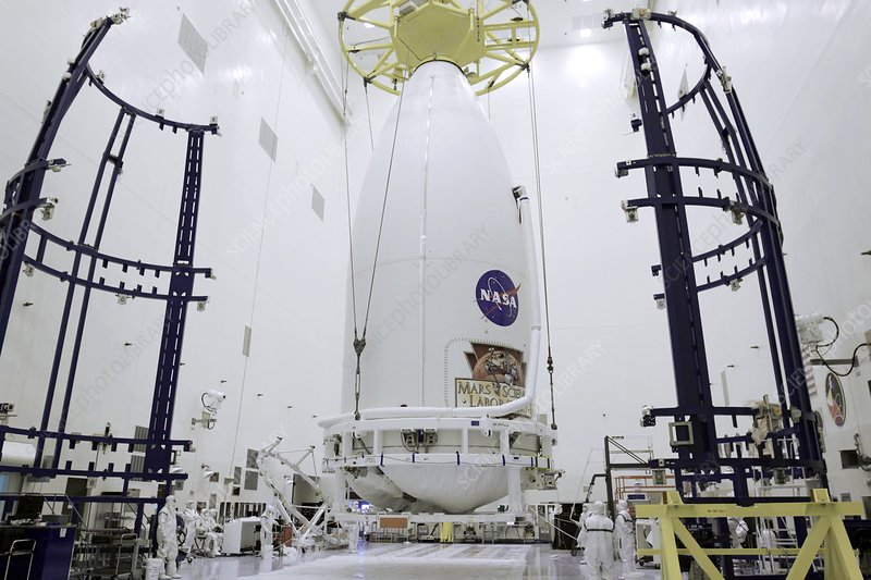 Mars Science Laboratory spacecraft