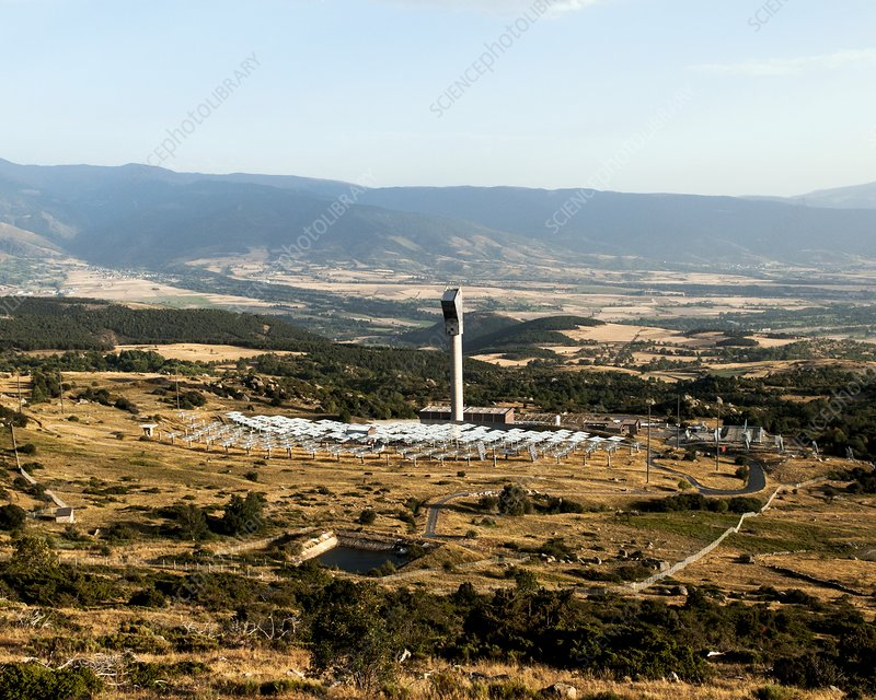 Themis solar power tower, France