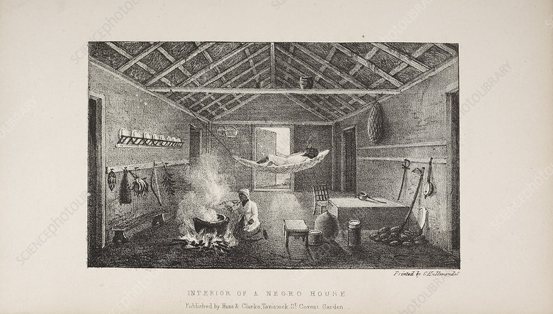 Interior of a Negro House