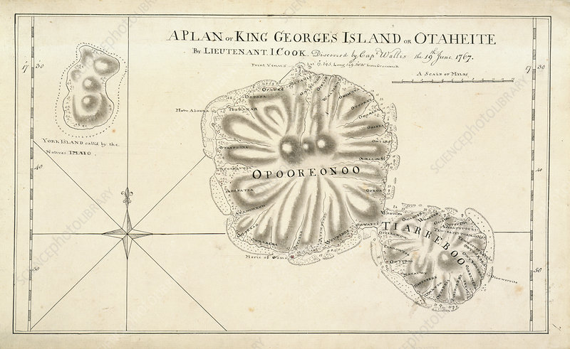 Map of King George's Island