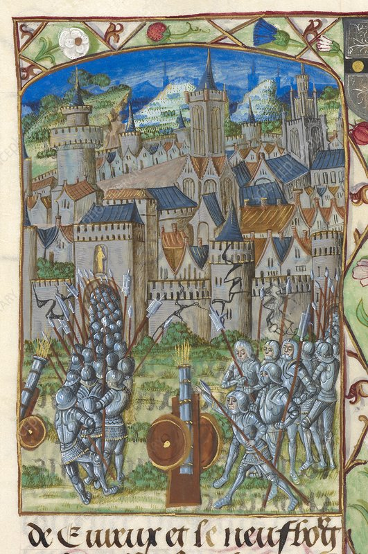 Capture of Evreux