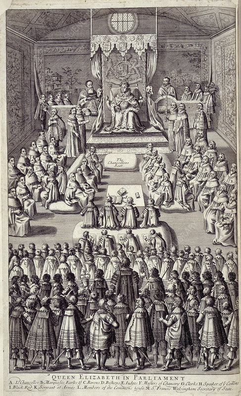 Elizabeth I in parliament