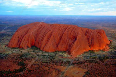 Uluru (Ayers Rock) at sunset, Australia