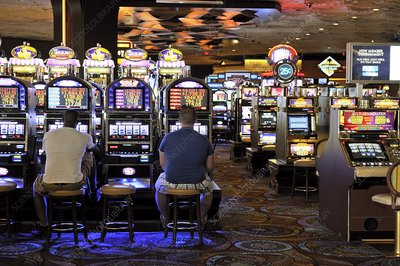 Slot machines, Las Vegas, USA