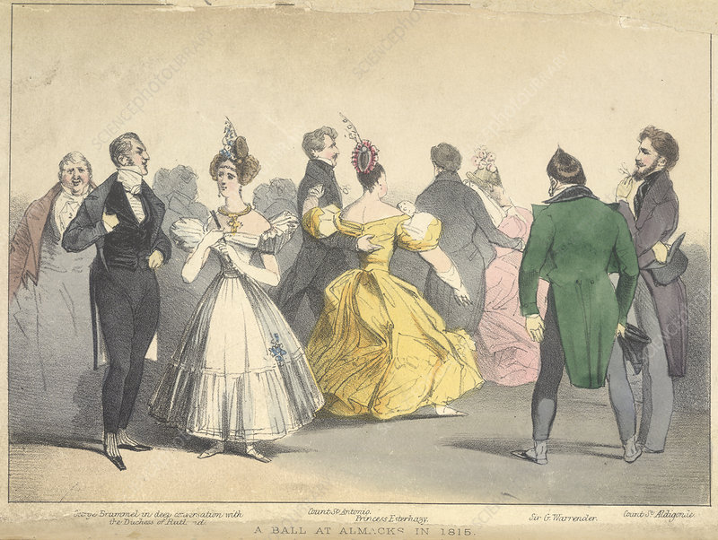 A Ball at Almacks in 1815
