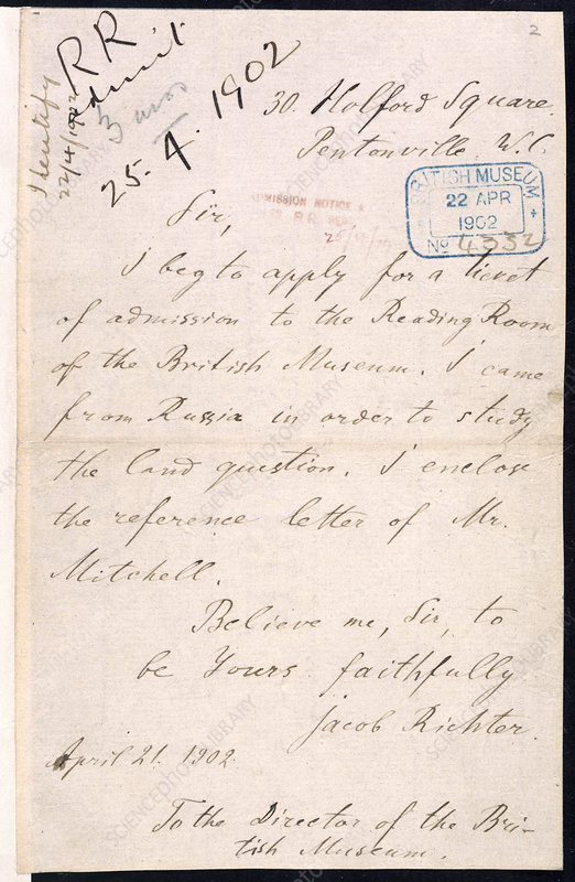 Letter of Lenin