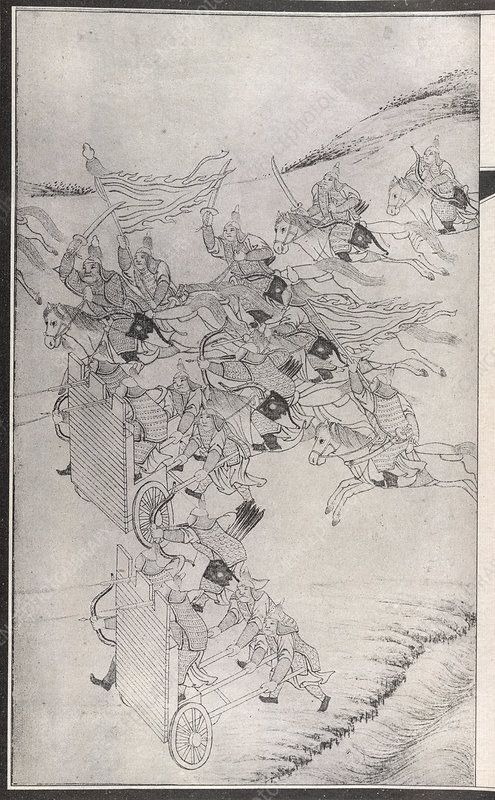 Manchu tactics against the Chinese
