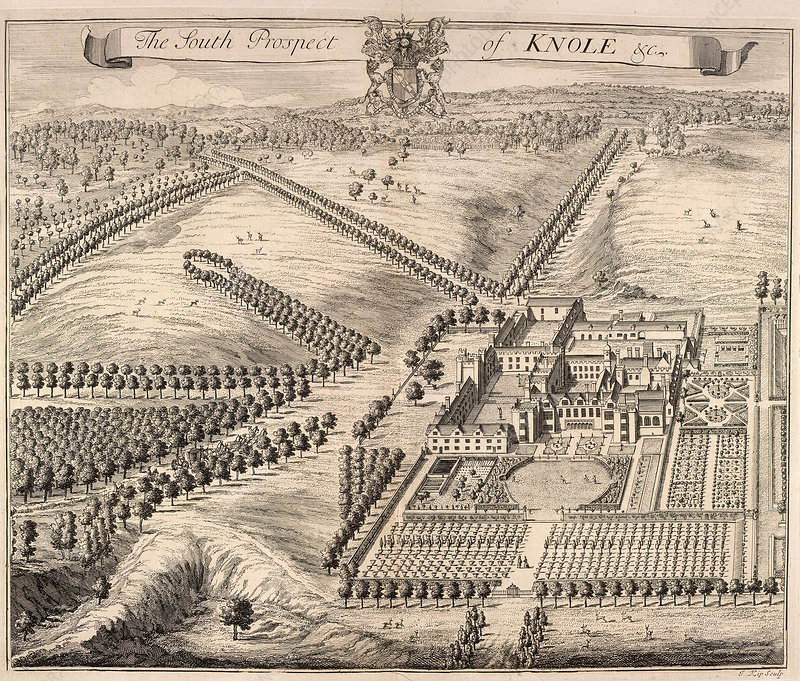 View of Knole