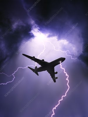 Lightning Strike on Aircraft