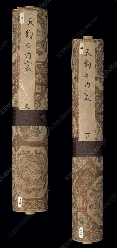 Two Japanese scrolls