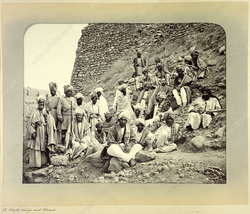 Khyber chiefs and Khans