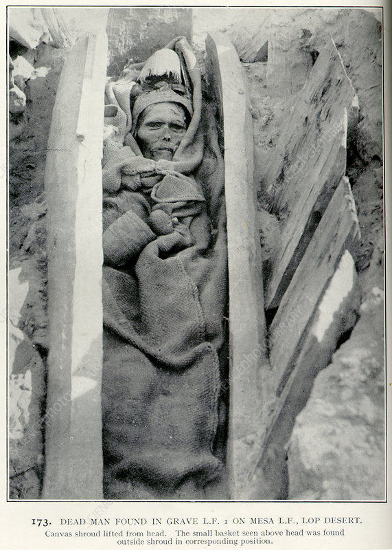 Dead man found in grave