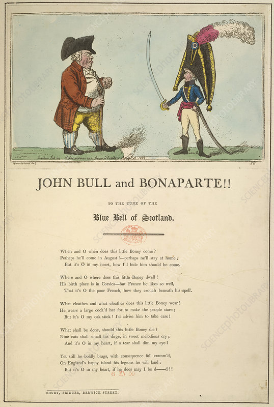 John Bull and Bonaparte
