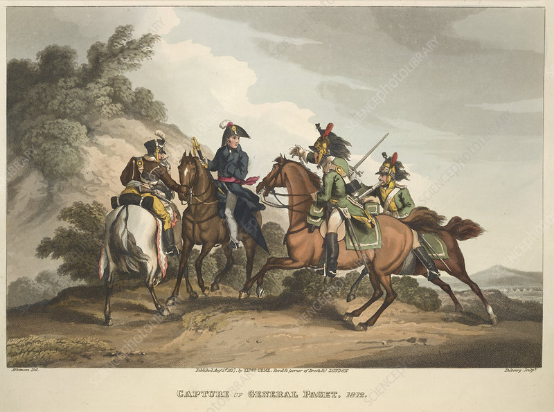 Capture of General Paget