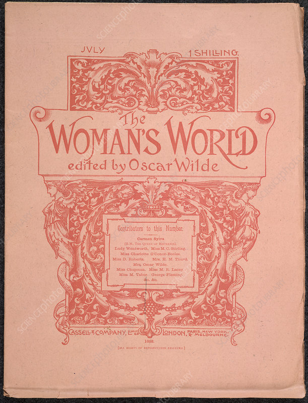 The Woman's World Front cover