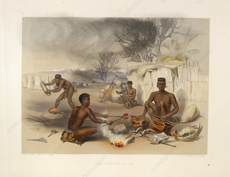 Zulu blacksmiths