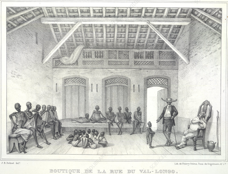 Slaves in a room