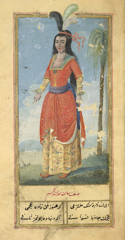 Woman of the East Indies