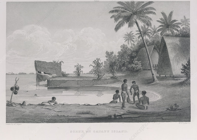 Scene at Oatafu island