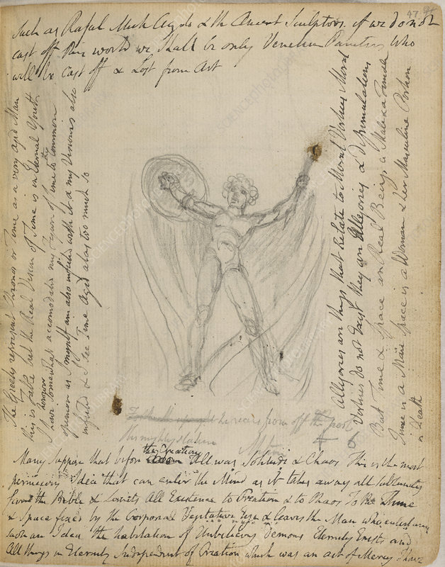 Notebook of William Blake