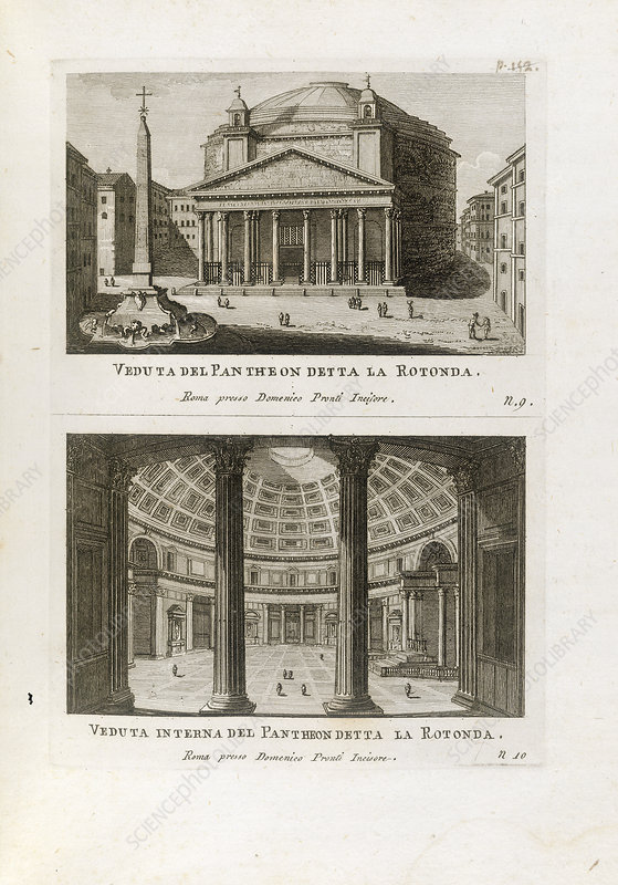 Views of the Pantheon