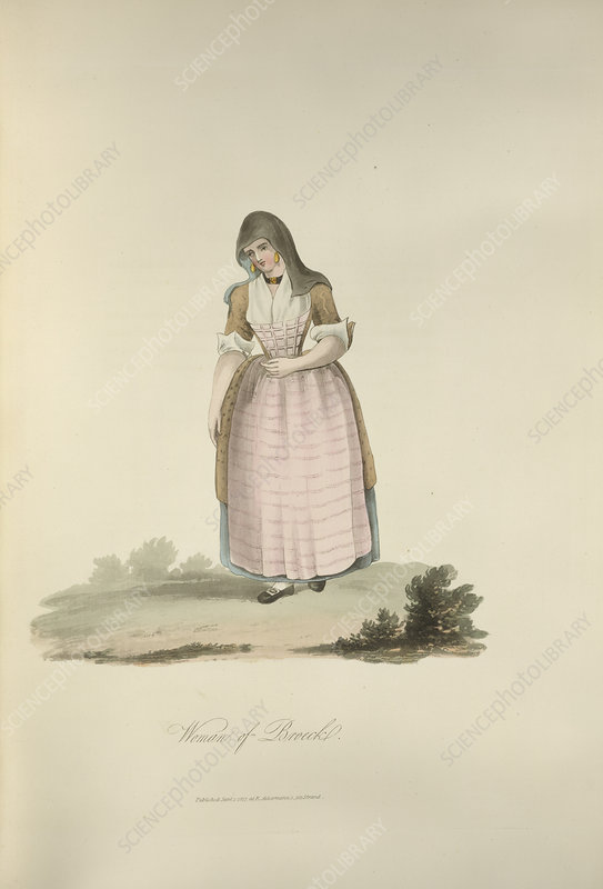 A Dutch woman
