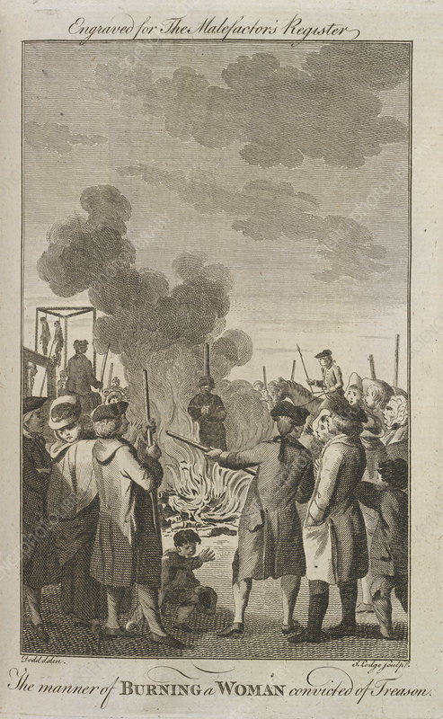 Execution by burning