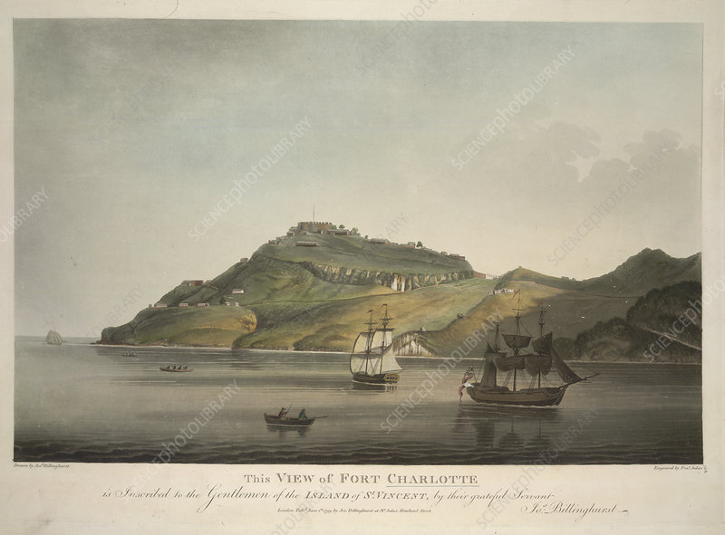 View of Fort Charlotte