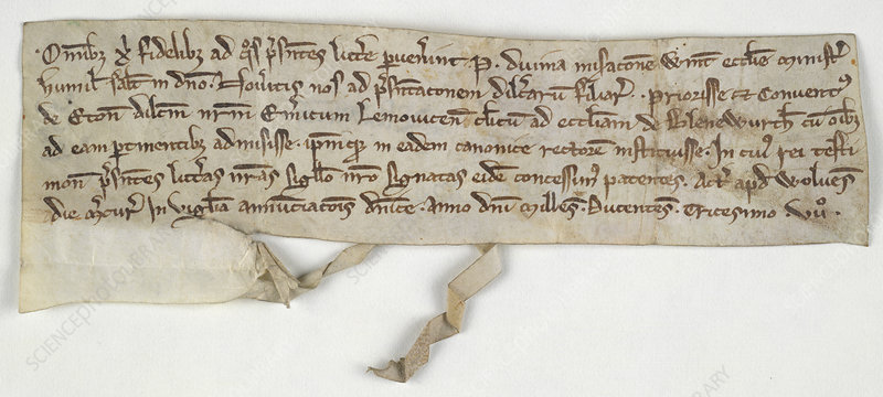 Charter of Nuneaton Priory