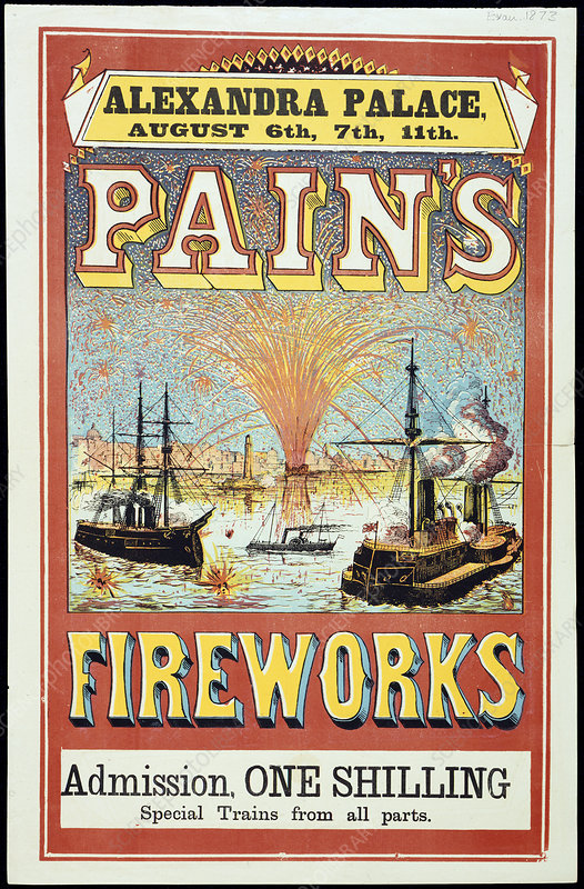 Pain's Fireworks