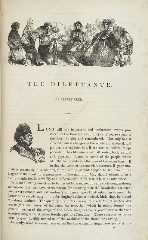 The Dilettante