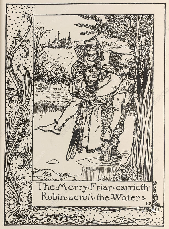 The merry friar