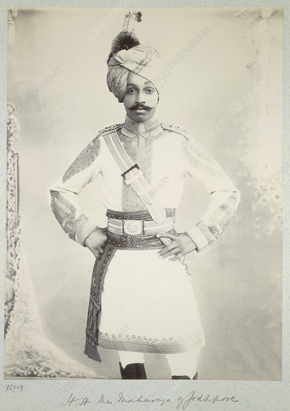 HH the Maharaja of Jodhpore
