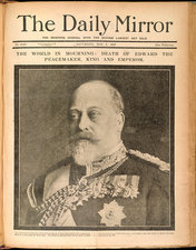 The death of Edward VII