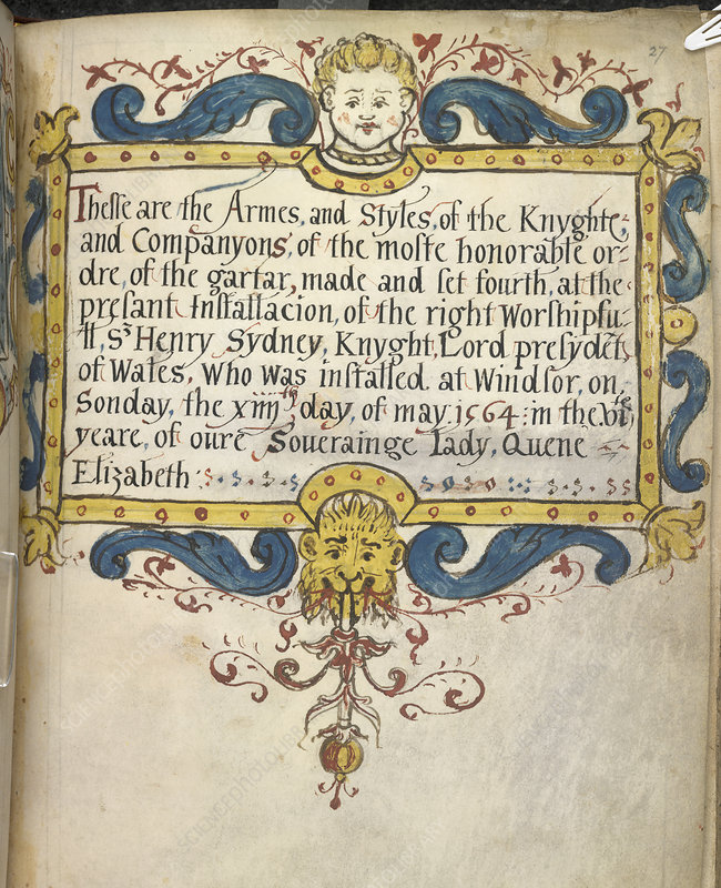 Decorated Title Page
