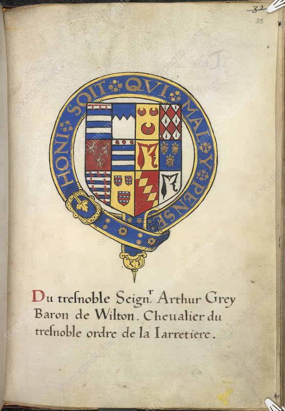 Coat of Arms of Arthur Grey