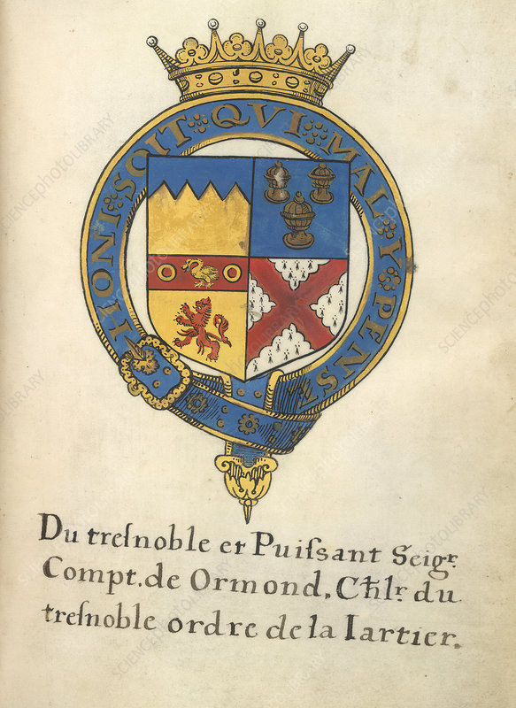 Coat of Arms of Thomas Butler