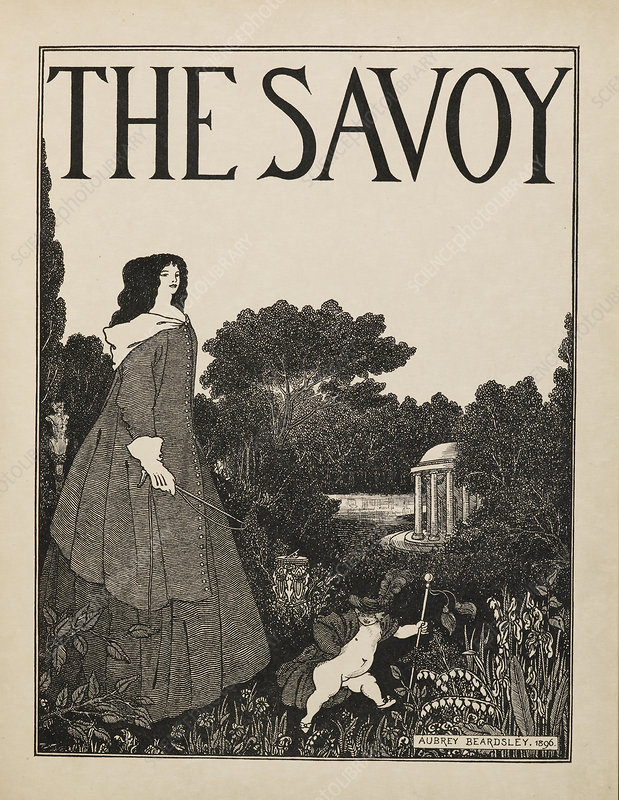 Cover design for No.1 of The Savoy