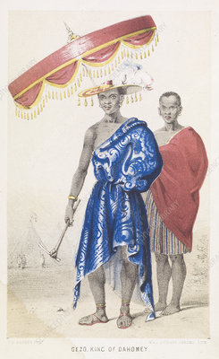 Gezo, King of Dahomey