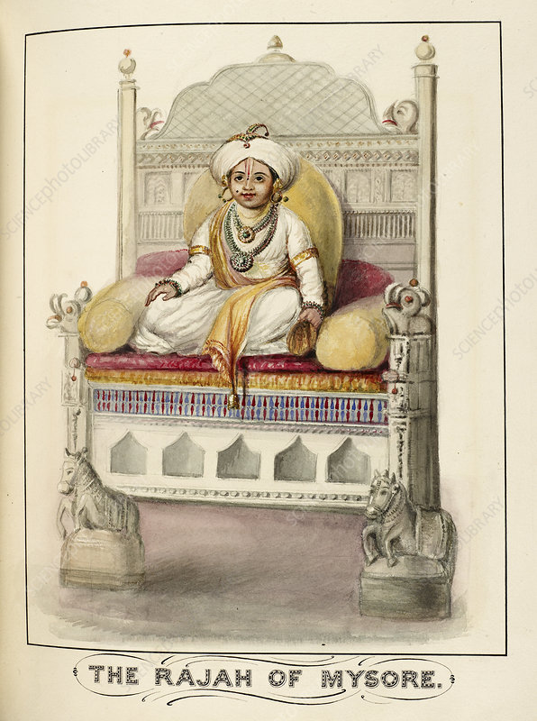 The Rajah of Mysore