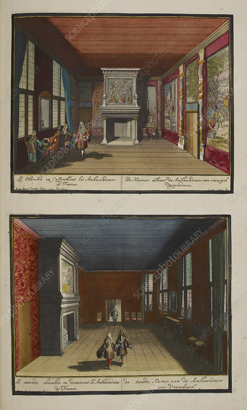 The French Ambassadors' rooms
