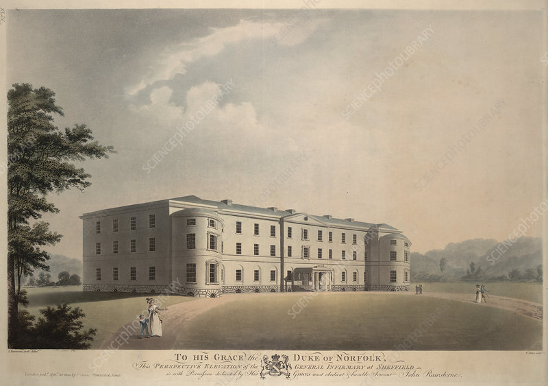 General Infirmary at Sheffield England.