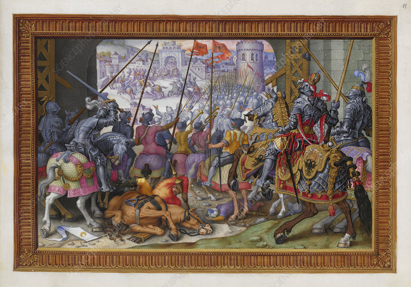 A victory of Emperor Charles V of Spain