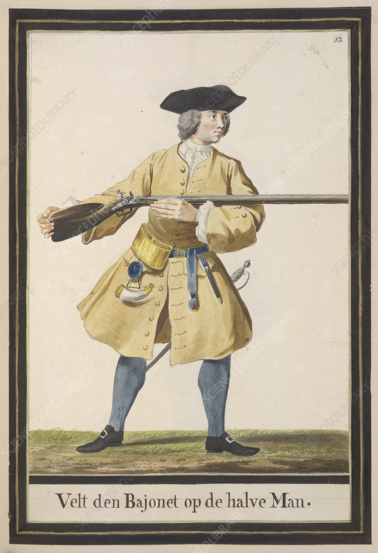 Dutch Military Costurmes and Musket Exerc