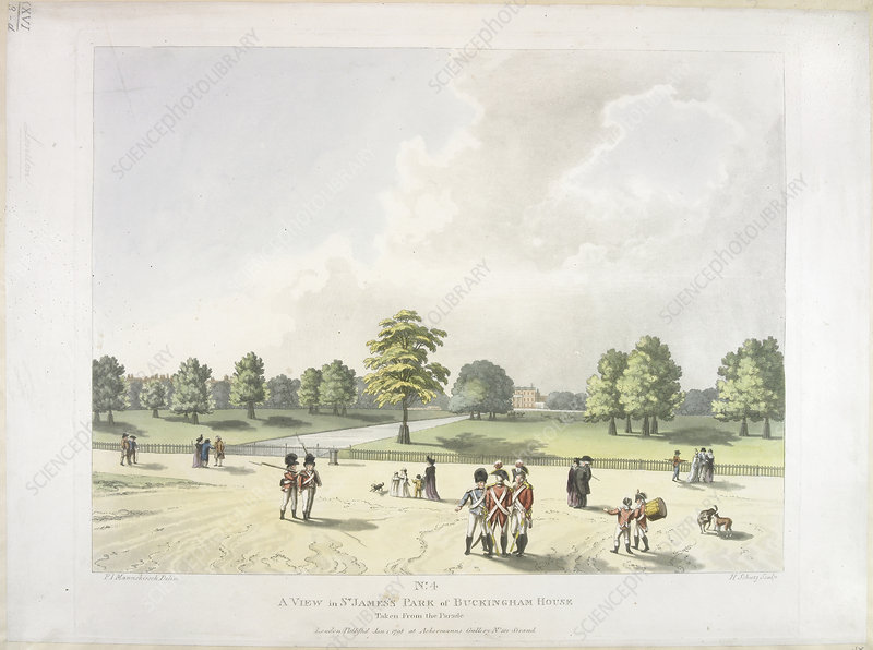 St James's Park in the eighteenth century