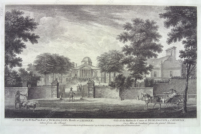 The Earl of Burlingtons House at Chiswick