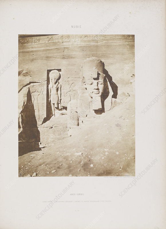 Photograph of the Egyptian landscape
