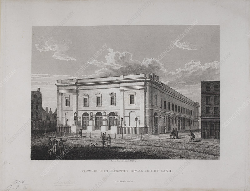 View of the New Theatre Royal, Drury Lane